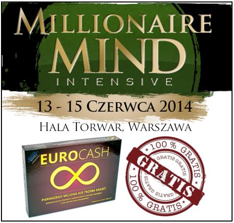 Umysł milionera z grą EURO CASH gratis!